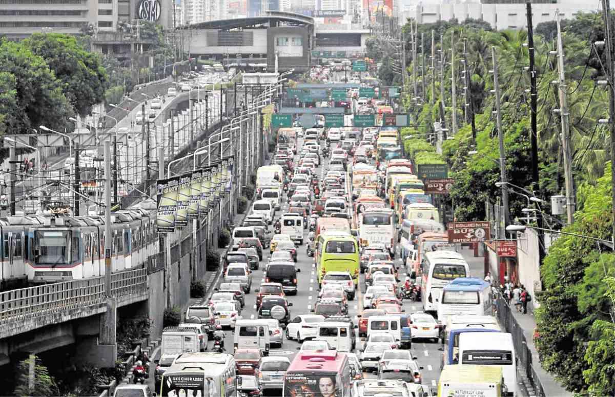 Driver-Only Car Ban on Manila'sEDSA