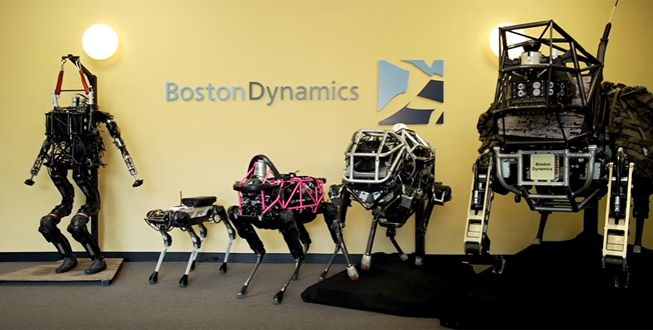 Boston Dynamics – Creepy Christmas!